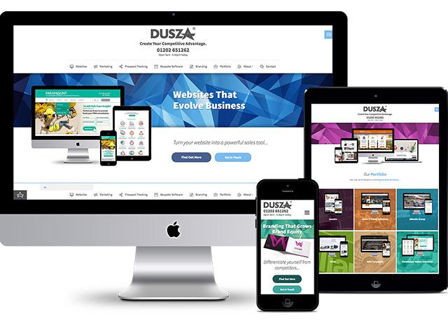 Dusza New Website Launch